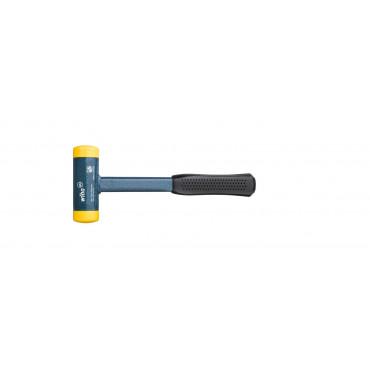 Massette WIHA sans rebond - Embouts jaunes mi-dur - 02123