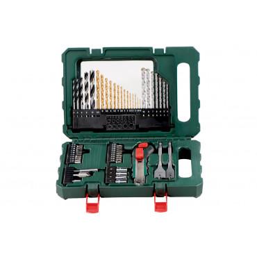 Assortiment embouts + forets + accessoires SP 55 pièces METABO - 626707000
