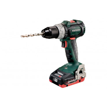 Perceuse à percussion METABO - SB 18V - LT BL 2 x 4,0 Ah LiHD, ASC 55, coffret - 602316800
