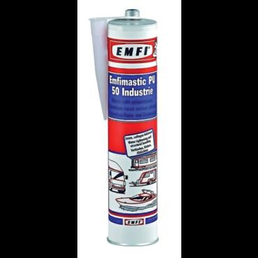 Mastic polyuréthane PU50 EMFI - gris  - 300ml - 74062AE508