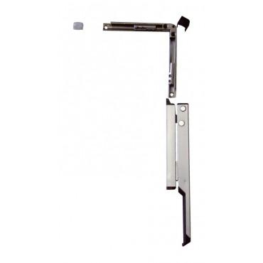 Boîte de base ferme-imposte en applique OL90/95 GEZE - Blanc - (Poignée + Renvoi 90°) - 30615