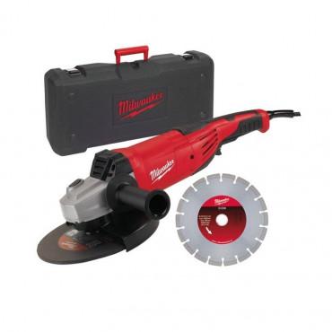 Meuleuse MILWAUKEE AG 22-230D-SET - Ø230mm 2200W - 4933440292