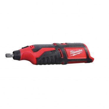 Meuleuse droite MILWAUKEE C12 RT-0 - Sans chargeur ni batterie - 4933427183