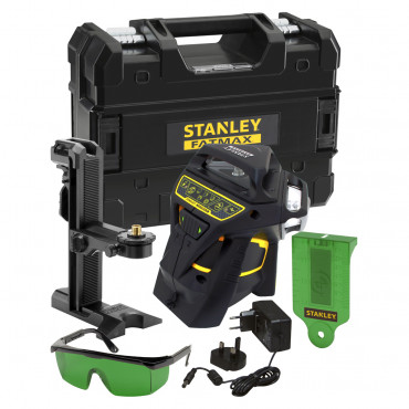 Niveau laser ligne automatique STANLEY X3-360 GREEN - Faisceau vert - FMHT1-77356
