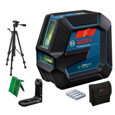 Laser lignes GLL 2-15 G + Support BT150 BOSCH - 0601063W01