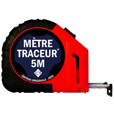 Mètre traçeur 5M +10 mines - Edition originale - Tracé noir - MT5-N