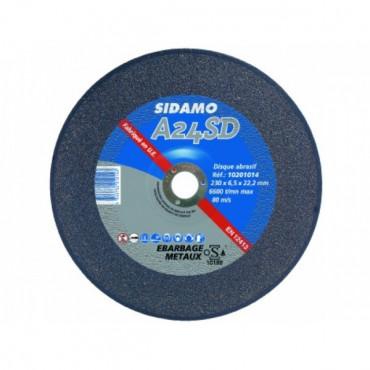 Disque à ébarber métal A24SD SIDAMO SA - Ø 230 x 6.5 mm - 10201014