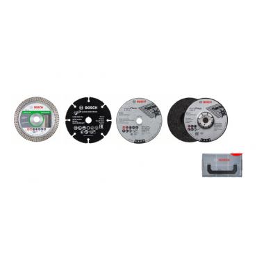 Lot de 4 disques Ø76 mm BOSCH pour meuleuse GWS12V76 - 06159975VC