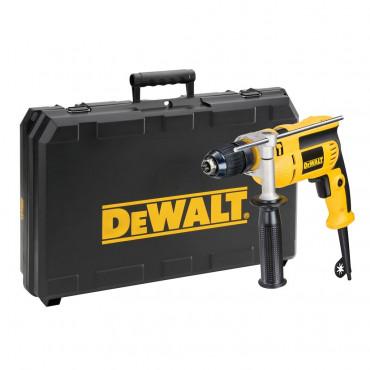 Perceuse à percussion DEWALT - 650W 13MM - DWD024KS