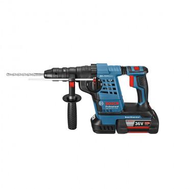 Perforateur BOSCH GBH 36VF-Li 4.0Ah en coffret + 2 batteries, chargeur - 0611907002