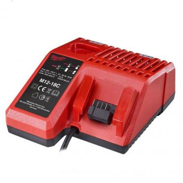 Chargeur multi-voltage MILWAUKEE 12V - 14.4V - 18V RED LITHIUM - 4932352959
