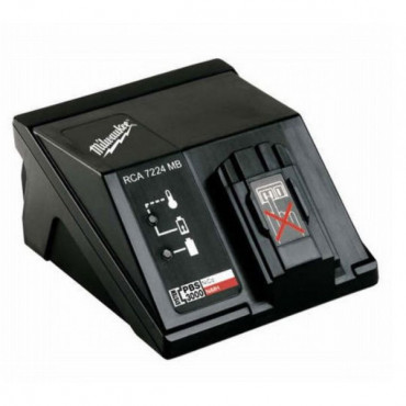 Chargeur MILWAUKEE  7,2-24V RCA 7224 MB système PBS 3000 - 4932386670