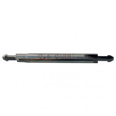 Mèche ancrée pour rainureuse RA17D VIRUTEX - QU.6 - Double pointe - 1740104