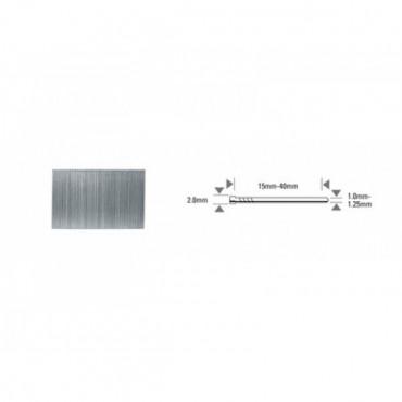 Pointe BT13 acier, tête marron - Longueur:35 mm - Boîte de 5000 - BT13-35-BRO