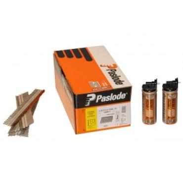Pack de 1100 Clous crantés inox A2 pour bardage bois SPIT + Gaz - 2,8 x 55 mm - 141253