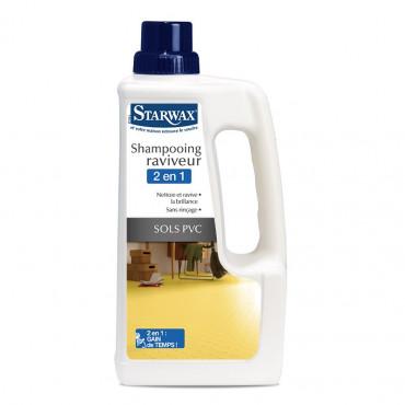 Shampooing raviveur STARWAX sols PVC - 1L - 312