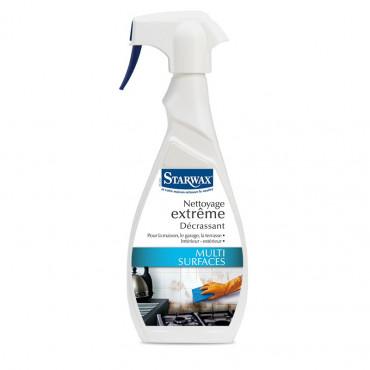 Décrassant STARWAX Nettoyages extremes - Pulvérisateur 500 ml - 5107