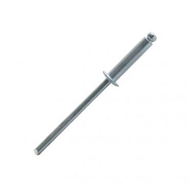Boîte 250 Rivets standard acier/acier SCELL-IT - 4 x 12 mm - SD4012