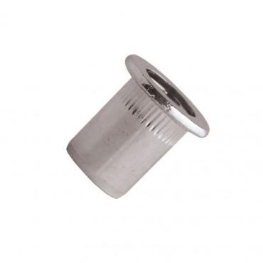 Écrou cranté tête plate Inox A2 SCELL-IT - Ø8 mm Serrage 0.5-3 - END0830