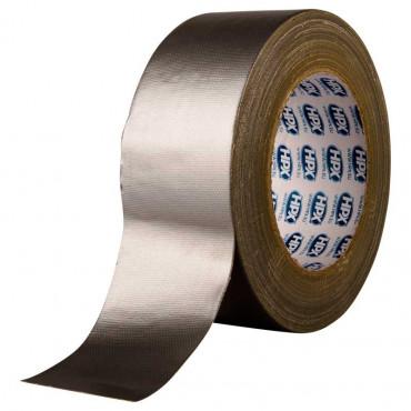 Ruban adhésif Toile U.S imperméable Argent HPX - 50mm x 25m - CS5025