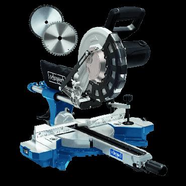Scie à onglet radiale HM254 SCHEPPACH - 220-240V 50Hz 2000W - 255mm - 5901216901