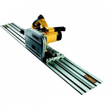 Scie plongeante DEWALT 165mm + Rail - DWS520KR