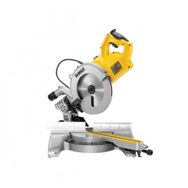 Scie à onglets Radiale compacte DEWALT 250MM  1850W - DWS778