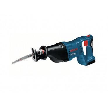 Scie sabre sans fil  - Sans batterie, ni chargeur -  BOSCH GSA 18 V-LI solo en coffret L-Boxx - 060164J007