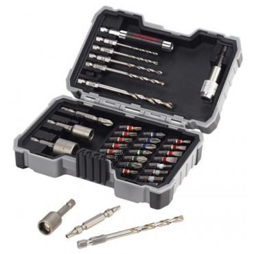 Set de 35 pièces de vissage et forage métal BOSCH - 2607017328