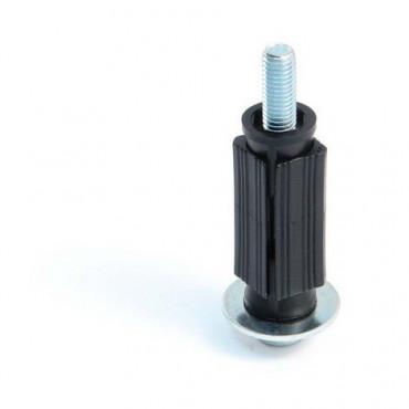 Embout carrée AVL - plastique et filetée M10 - 375