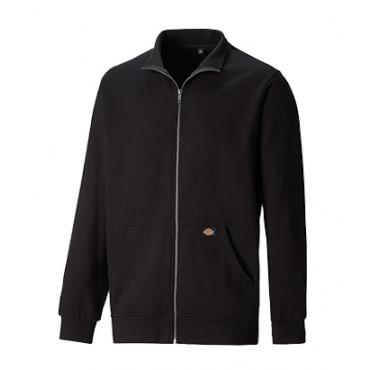 Sweat DICKIES Edgewood - Fermeture centrale zippée - Noire - SH11301  BK