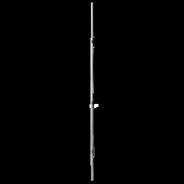 Serrure multipoint à larder ISEO Performa - Têtière U 1930x24x6 mm Acier INOX - Entraxe 92 mm - Axe 30 mm - 7232523028