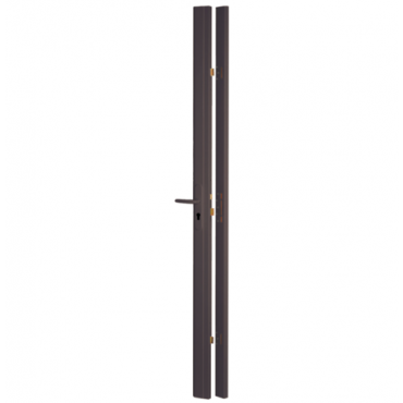 Serrure réversible 3 points latéraux Tribando THIRARD - Marron - 2250 mm max - 73072