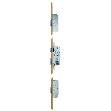 Serrure 5000 T204 VACHETTE - Axe 50 - 3 pênes latéraux oblongs - Tétière 2040 - 18011000