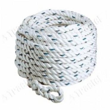 Corde 10 mètres Ø 14mm TRACTEL - 45092