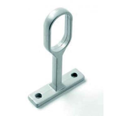 Piton ovale 2044 zamack Blanc 9010 30 x 15 mm DUVAL BILCOCQ - 52-0906-1016