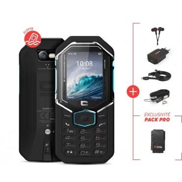 Téléphone Shark-X3 CROSSCALL - Pack pro - SHX3.PACK.BB.NN000