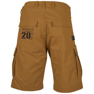Bermuda DARAN 100% coton - Couleur Ambre Taille 46 - 11074