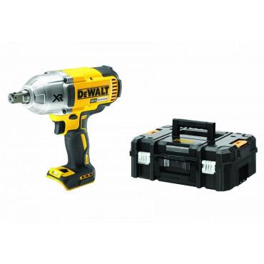 Boulonneuse à chocs DEWALT 18V 480 Nm - Sans batterie ni chargeur - En coffret T-STAK - DCF899NT