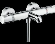 Mitigeur Thermostatique bain/douche HANSGROHE Ecostat  chromé - 13138000