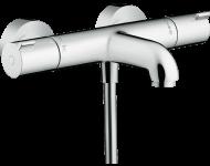 Mitigeur Thermostatique 1001 CL bain/douche HANSGROHE Ecostat  chromé - 13201000