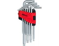 Jeu de clés mâles coudées Torx longues KSTOOLS - 10 pièces - 151.4880