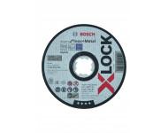 Disques à tronçonner BOSCH Expert for Inox + métal - X-LOCK Ø125 x 1 - 2608619264