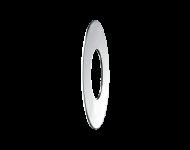 Rosace plate Ø30x65x1 DELABIE M30 - 2 pièces - 292065.2P