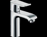 Mitigeur de lavabo HANSGROHE Metris  Eco CH3 CoolStart , avec tirette et vidage chromé - 31121000