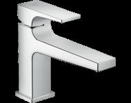 Mitigeur de lavabo HANSGROHE Metropol  CoolStart poignée manette bec long, bonde Push-Open chromé - 32503000