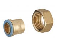 Raccord 2 pièces gaz naturel à souder femelle F1/2' (15x21) NOYON & THIEBAULT - Ø 14 mm - 5079-14C1