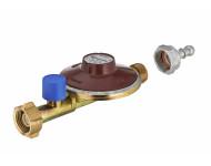 Détendeur butane avec sécurité 1.3 kg/h NOYON & THIEBAULT - 28 mbar écrou bouteille / mâle M20x150 avec tétine - 5516-13TC1