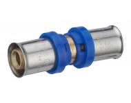 Jonction égale à sertir multiprofil TH-H-U pour tube multicouche - Ø 16 mm - 310301
