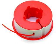 Recharge + Bobine de fil intégrée / 8 m Ø 1.6 mm BOSCH pour ART Easytrim et Combitrim - F016800175